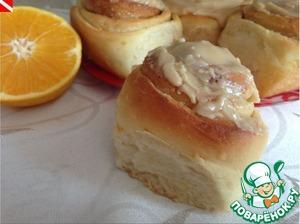 """Рецепт Апельсиновые булочки-улитки + бонус """"Апельсиновый экстракт"""""""