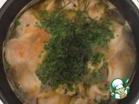Сытный суп с пельменями ингредиенты