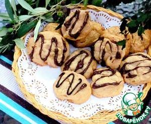 Рецепт Бисквитное печенье с орехом макадамия