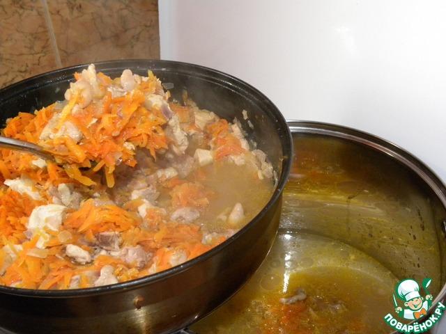 Рецепт приготовления плова из курицы в кастрюле