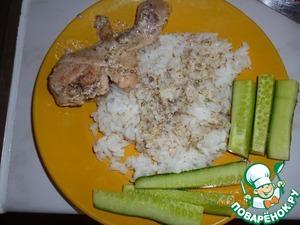 Рецепт Курочка в сметанно-чесночном соусе