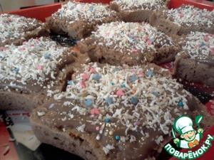 Рецепт Пироженки в микроволновке