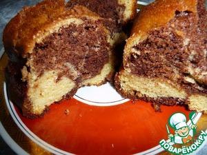 Рецепт Кекс мраморный с шоколадом