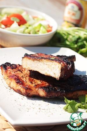 Рецепт Свинина с имбирем и соусом вок