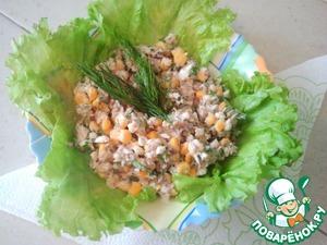 Рецепт Салатик рыбный