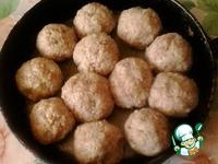 Рисовые тефтели в томатно-сметанном соусе ингредиенты