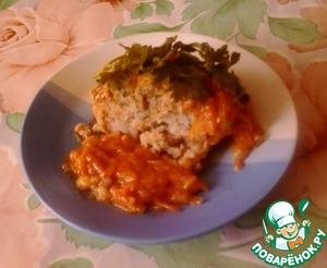 Рецепт Рисовые тефтели в томатно-сметанном соусе в духовке