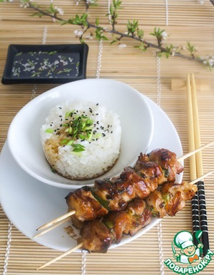 Рецепт Якитори из куриных ножек