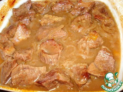 Мясо по-деревенски рецепт с фото пошагово