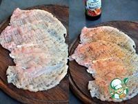 Куриные рулеты с голубым сыром в беконе ингредиенты