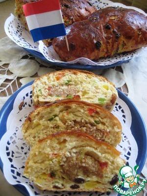 Рецепт Голландский пасхальный хлеб