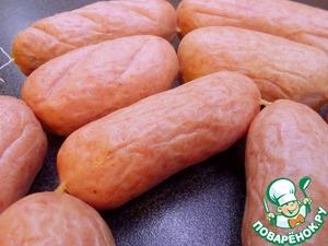 Рецепт Сардельки свиные