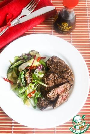 Рецепт Стейк из говядины в японском стиле