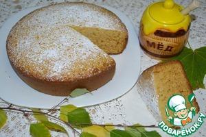 Рецепт Бисквит медовый (мультяшный)