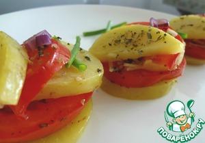 Рецепт Запеченные помидоры по-итальянcки