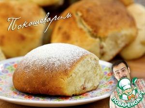 Рецепт Сдобные булочки с изюмом