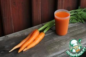 Морковный сок и секрет его употребления