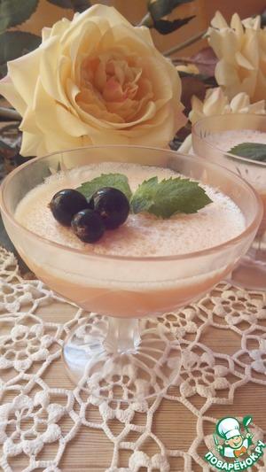 Рецепт Желе грейпфрутовое с белым вином