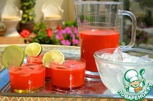 Рецепт Арбузный лимонад