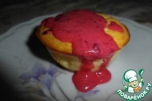 Рецепт Нежнейшие сырники из духовки с клюквенным соусом