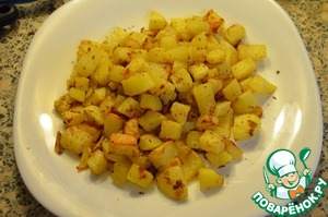 Рецепт Картофельные кубики