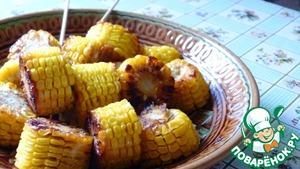Рецепт Жаренная кукуруза