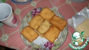 Рецепт Блины фаршированные яйцами с чесноком