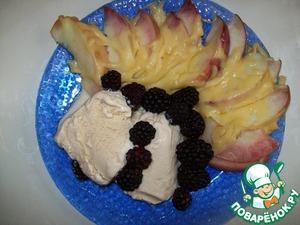 Рецепт Персики с сыром