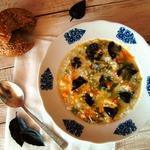 Минестроне с рисом от Юлии Высоцкой