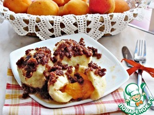 Рецепт Кнедлики с абрикосами (Topfenknоdel mit Marillen)
