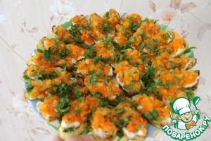 Рецепт Кабачки с овощами по бабушкиному рецепту