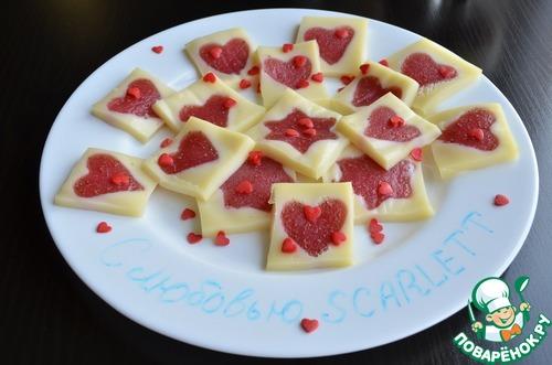 Десерт «С любовью SCARLETT»
