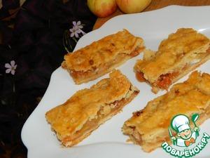 Рецепт Яблочные полоски
