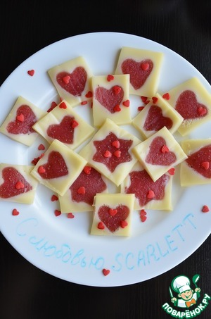 Рецепт Десерт «С любовью SCARLETT»