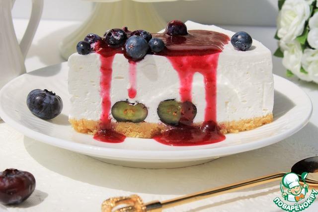 Украшение йогуртовых тортов