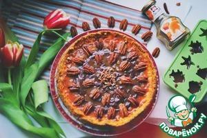 Рецепт Чизкейк с карамелью и орехами пекан