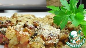 Готовим Баклажаны, запеченные с помидорами простой пошаговый рецепт с фотографиями
