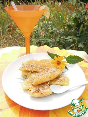Рецепт Десерт из бананов по-тайски