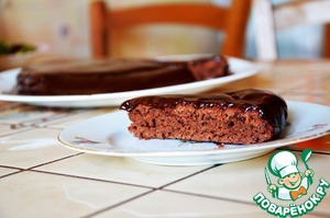 """Рецепт Шоколадный торт """"Черный принц"""""""