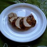 Куринное филе в панировке из смеси перцев