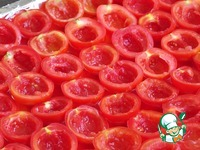 Вяленые томаты длительного хранения без холодильника 2 ингредиенты