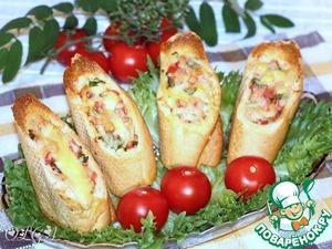Рецепт Хлебные стаканчики из багета