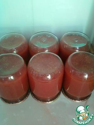 Рецепт Овощной сок