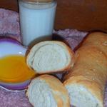 Домашний хлеб-рулет с оливковым маслом
