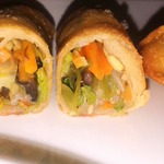 Спринг роллы (лумпия) с овощами и тесто для них