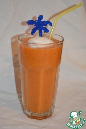 Рецепт Морковно-апельсиновый коктейль