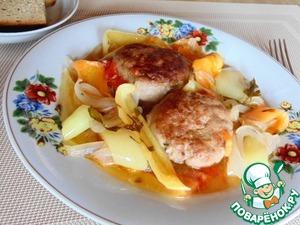 Рецепт Бифтекья (котлеты) с перцем