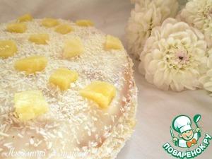 Рецепт: Ананасовый торт