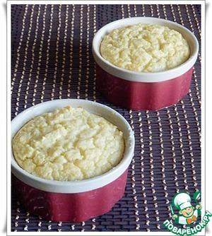 Рецепт Суфле из цветной капусты