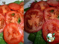 Салат из стручковой фасоли, помидоров и сыра ингредиенты